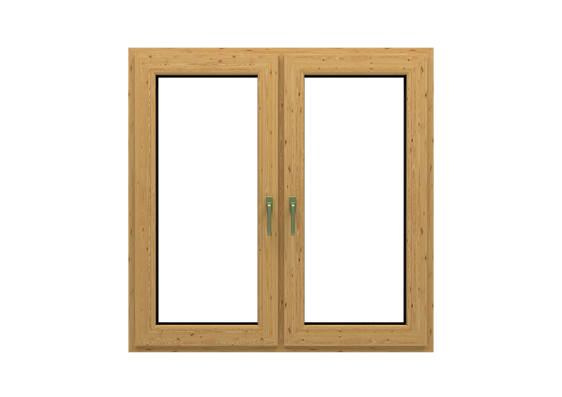 T-Passive forte in okna kolor polska sosna