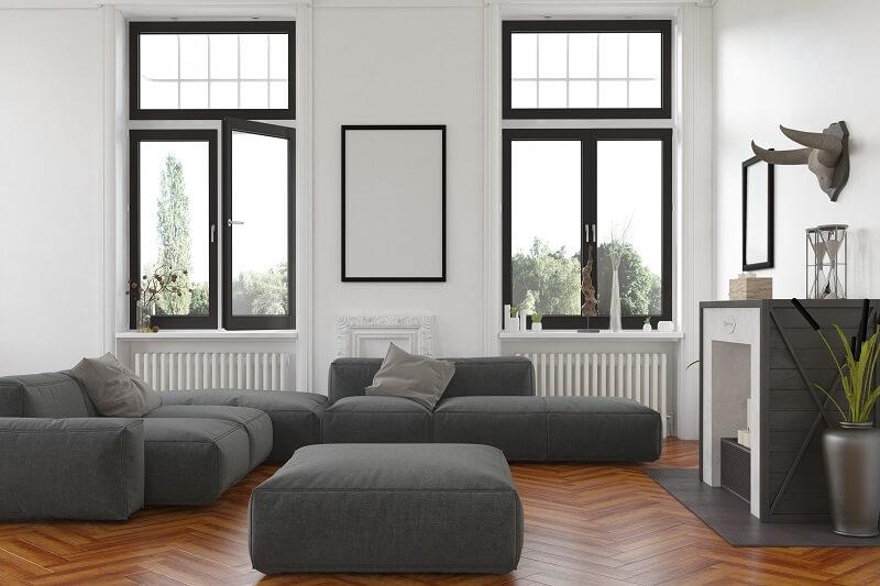 Fenster mit unsichtbarer Schweißnaht