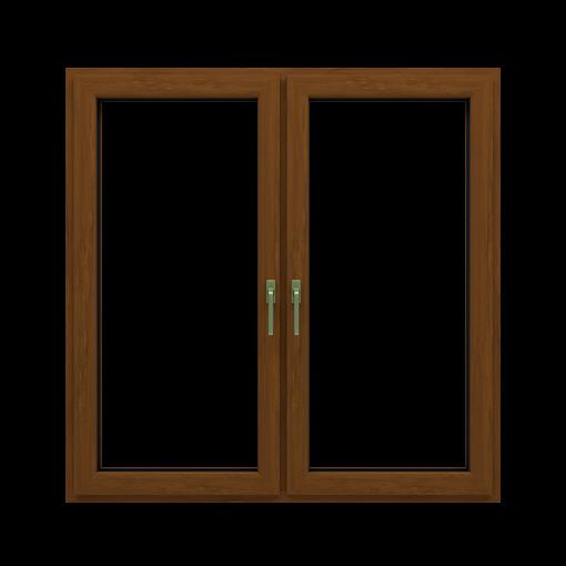 T-Passive Slim okna kolor zlaty dab